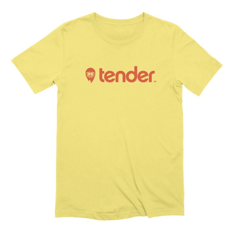 Tender Men's T-Shirt by Ed's Threads