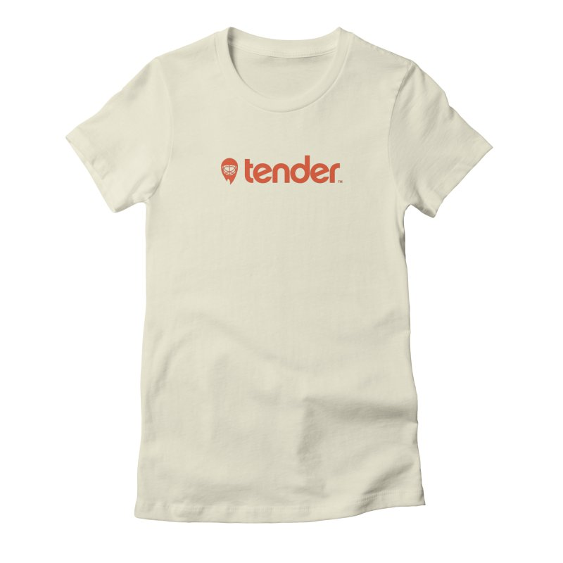 Tender Women's Fitted T-Shirt by Ed's Threads