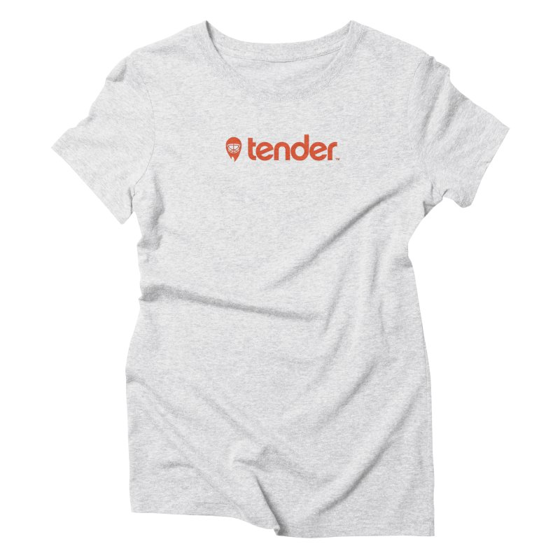 Tender Women's T-Shirt by Ed's Threads