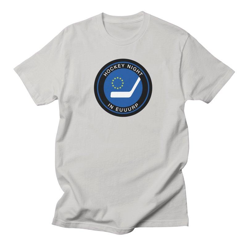 Hockey Night in Euuurp Men's T-Shirt by Ed's Threads