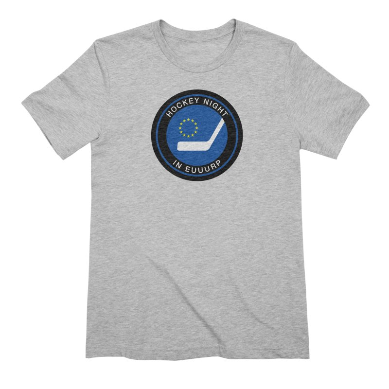 Hockey Night in Euuurp Men's Extra Soft T-Shirt by Ed's Threads