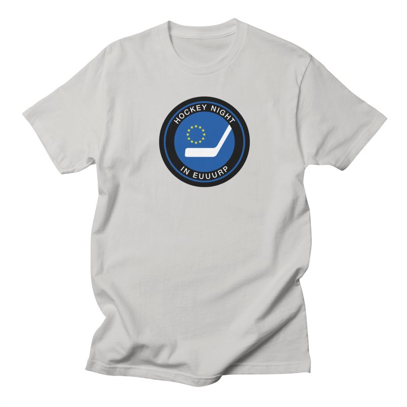 Hockey Night in Euuurp Men's T-Shirt by Ed's Threads