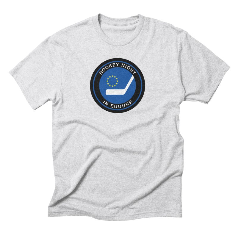 Hockey Night in Euuurp Men's Triblend T-Shirt by Ed's Threads