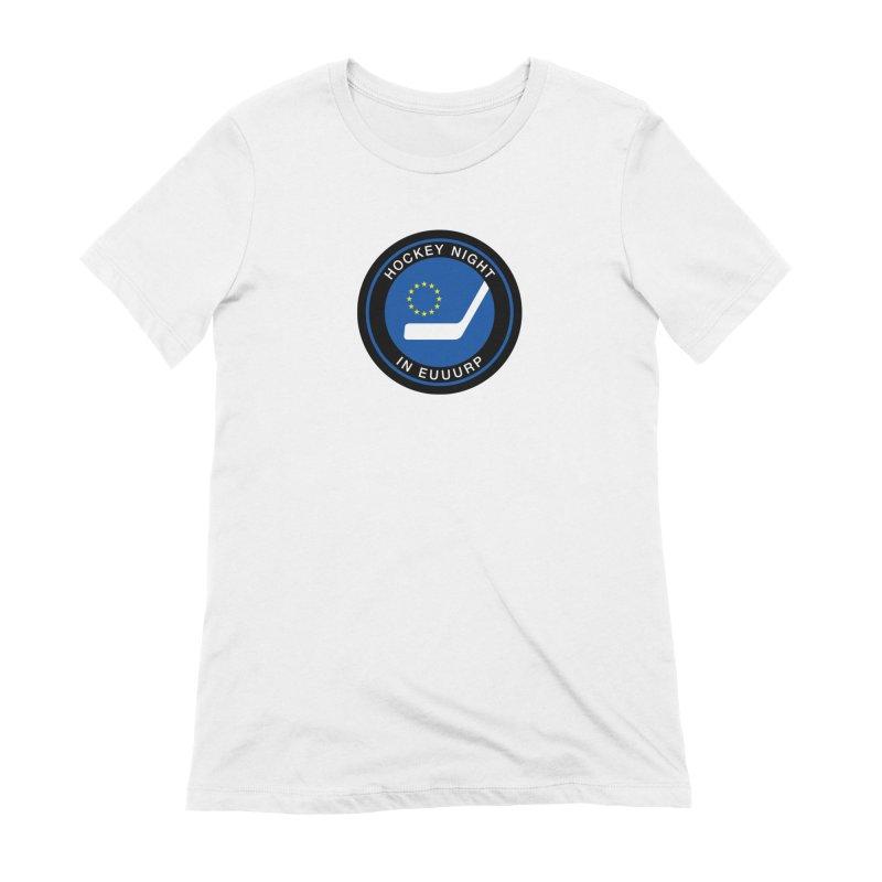 Hockey Night in Euuurp Women's T-Shirt by Ed's Threads