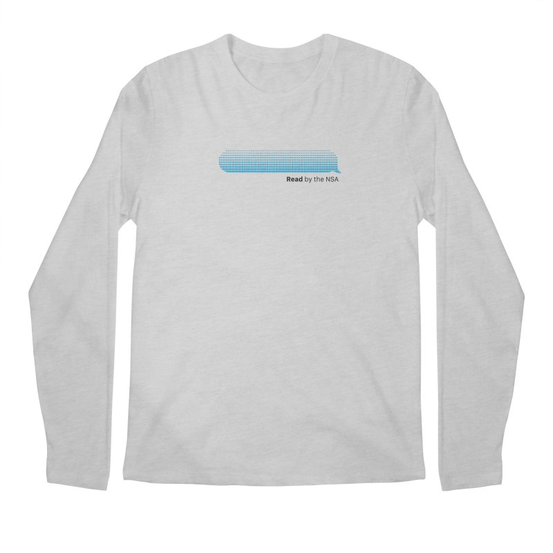 Read by the NSA Men's Longsleeve T-Shirt by Ed's Threads