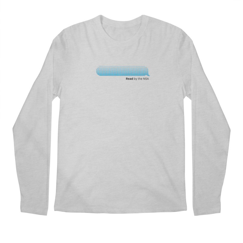 Read by the NSA Men's Regular Longsleeve T-Shirt by Ed's Threads