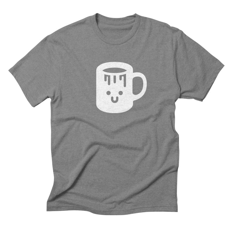 Clumsy Coffee Cup (Dark) Men's T-Shirt by Ed's Threads