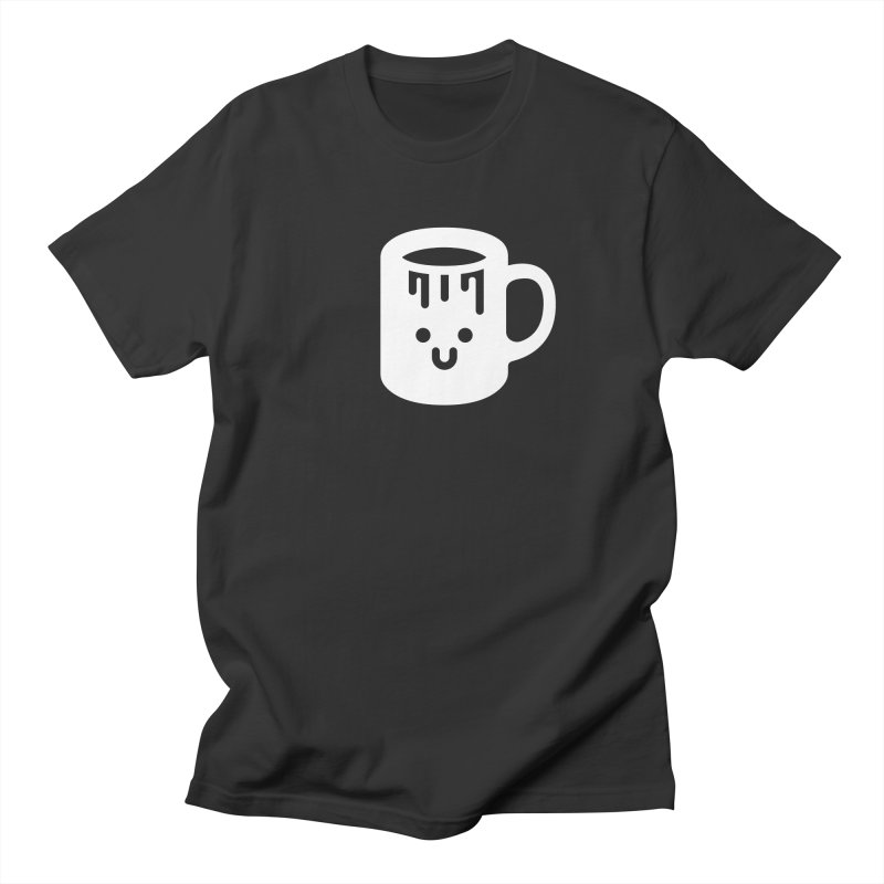 Clumsy Coffee Cup (Dark) Women's Unisex T-Shirt by Ed's Threads