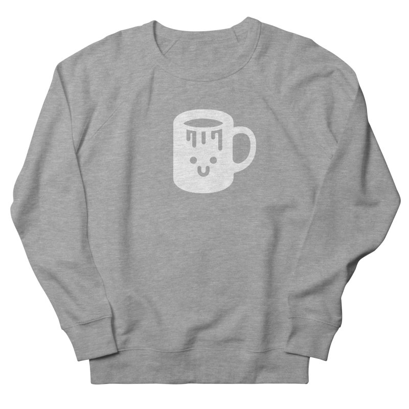 Clumsy Coffee Cup (Dark) Men's Sweatshirt by Ed's Threads