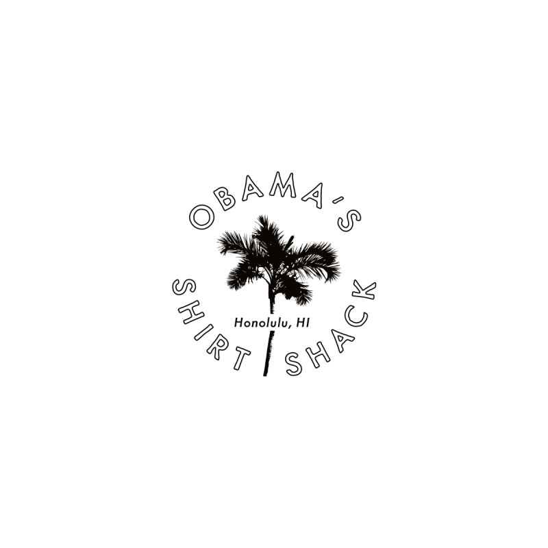 Obama's Shirt Shack (Palm tree seal) Women's Fitted T-Shirt by Ed's Threads