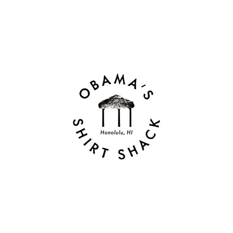 Obama's Shirt Shack (Tiki hut seal) Men's T-Shirt by Ed's Threads