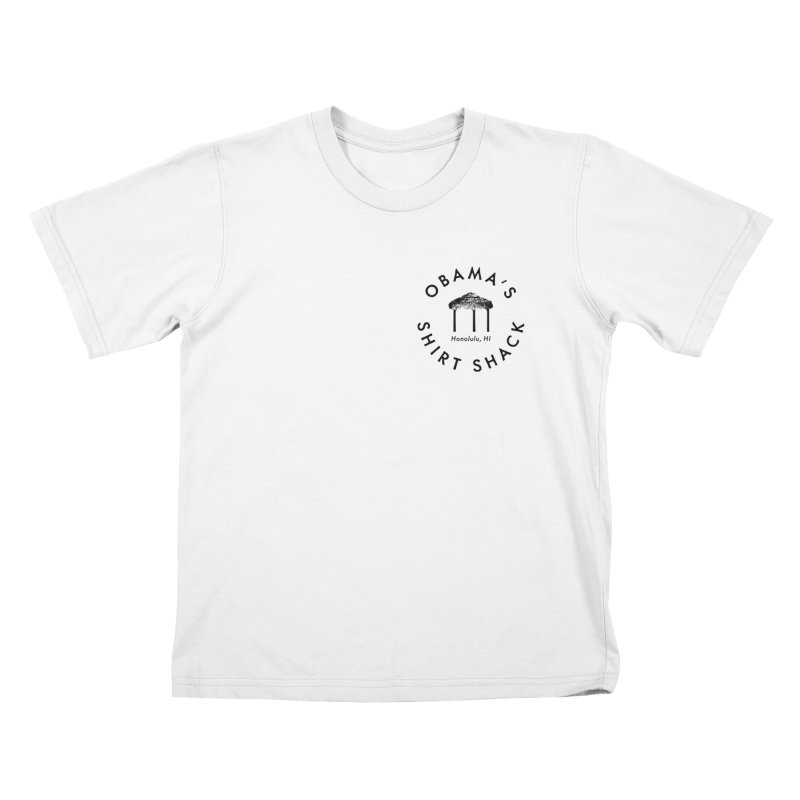 Obama's Shirt Shack (Tiki hut seal) Kids T-Shirt by Ed's Threads