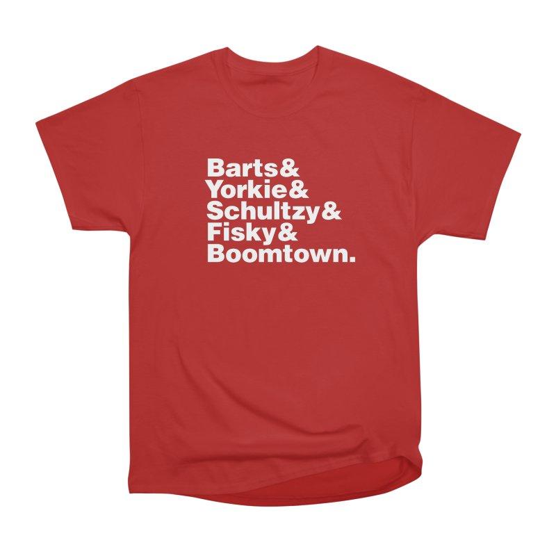 Senior Hockey Men's Classic T-Shirt by Ed's Threads