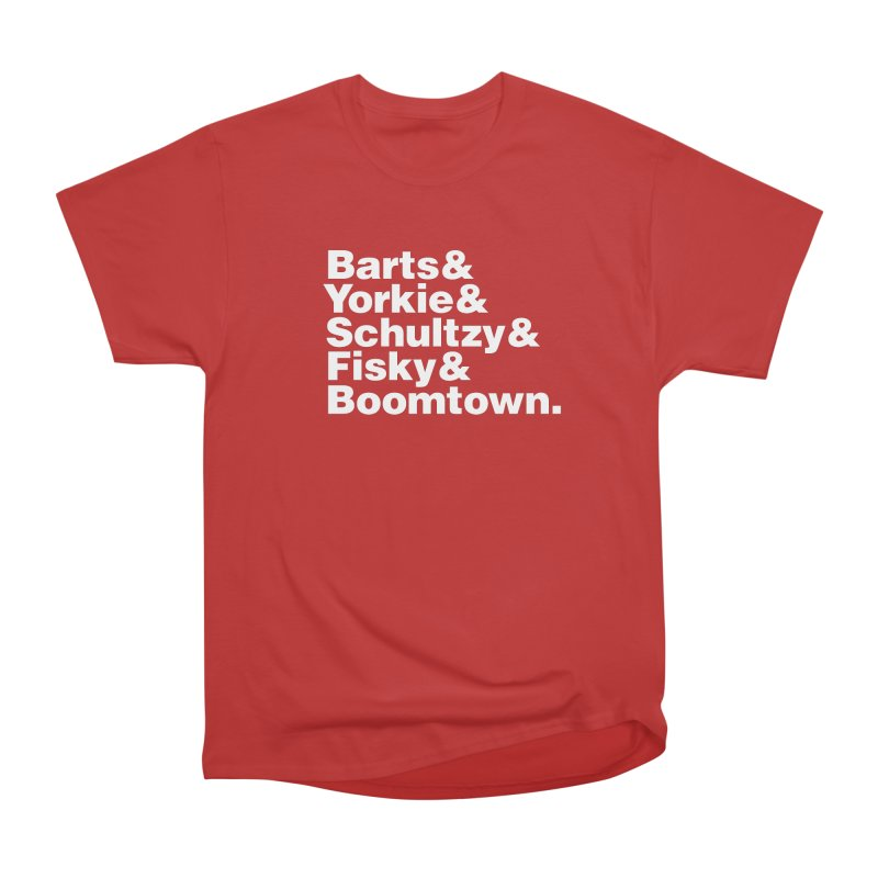 Senior Hockey Women's Classic Unisex T-Shirt by Ed's Threads