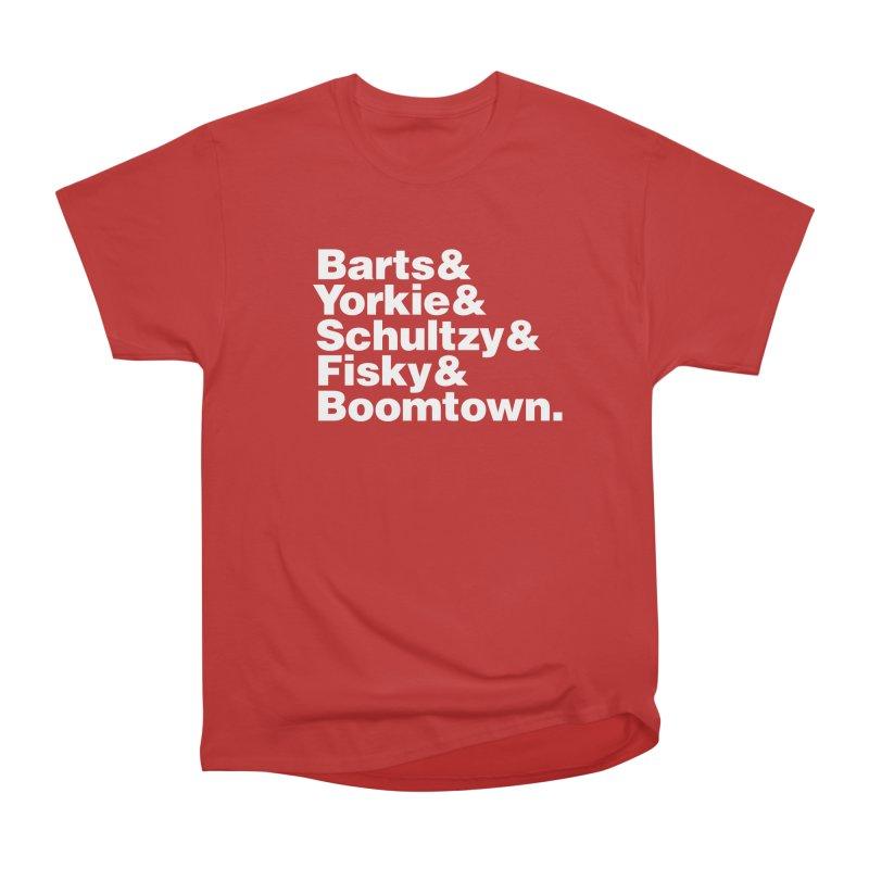 Senior Hockey Men's T-Shirt by Ed's Threads