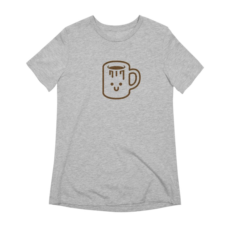 Clumsy Coffee Cup Women's T-Shirt by Ed's Threads
