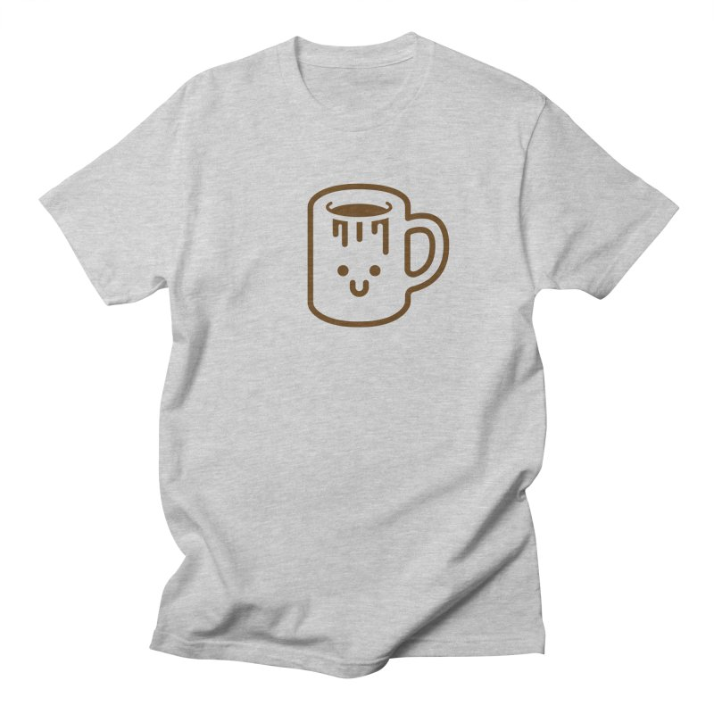 Clumsy Coffee Cup Men's T-Shirt by Ed's Threads