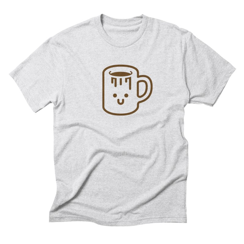 Clumsy Coffee Cup Men's Triblend T-Shirt by Ed's Threads