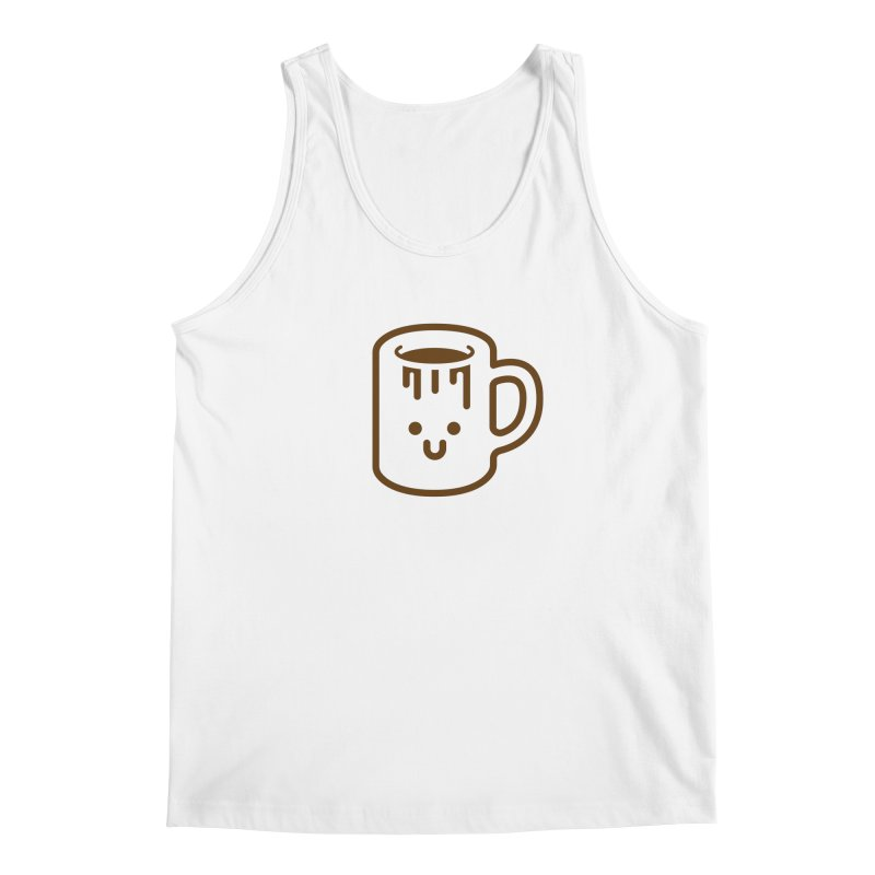 Clumsy Coffee Cup Men's Tank by Ed's Threads