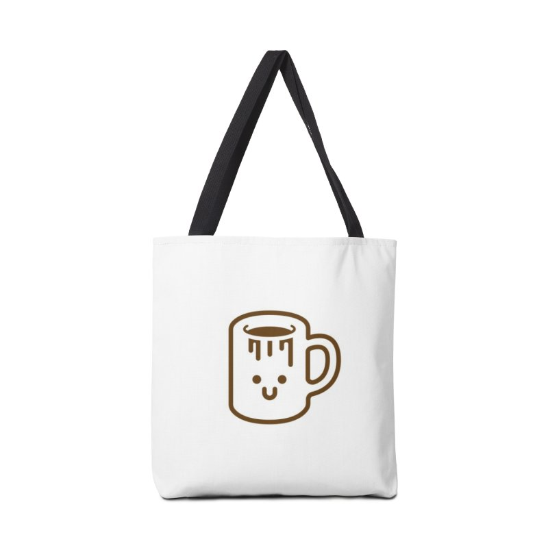 Clumsy Coffee Cup Accessories Bag by Ed's Threads