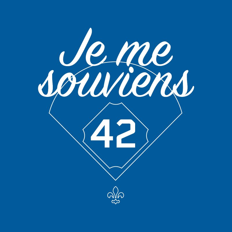 Je me souviens (Jackie Robinson Day edition) Kids T-Shirt by Ed's Threads