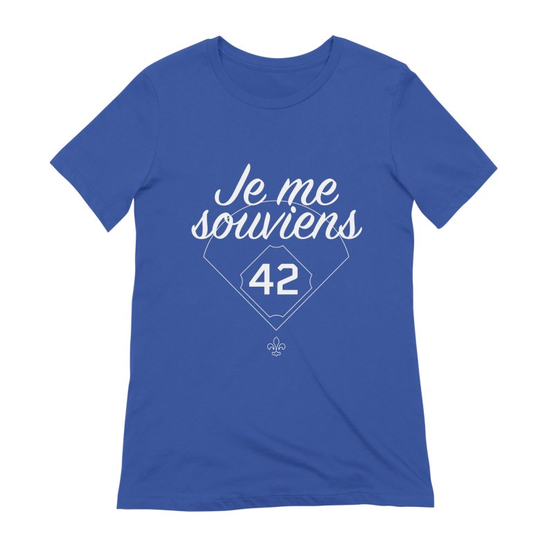 Je me souviens (Jackie Robinson Day edition) Women's T-Shirt by Ed's Threads
