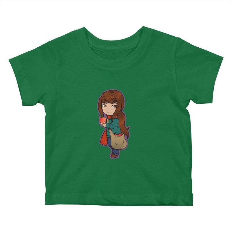 Apple Kids Baby T-Shirt by edubost's Artist Shop