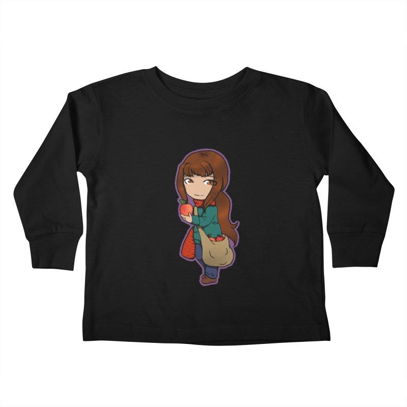 Apple Kids Toddler Longsleeve T-Shirt by edubost's Artist Shop