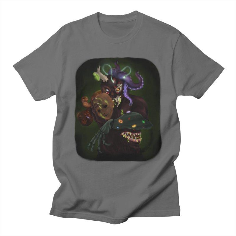 Mask Nightmare Men's T-Shirt by edubost's Artist Shop