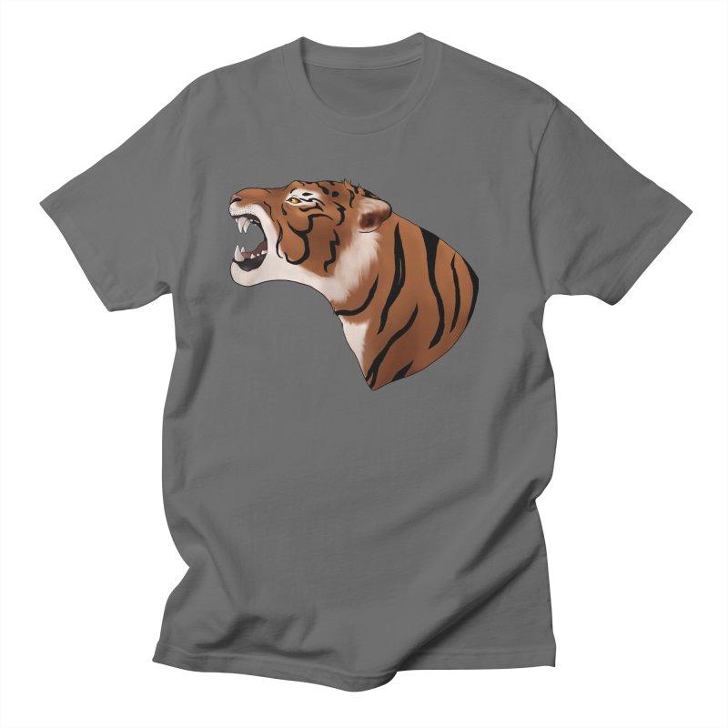 Tigers Roar Men's T-Shirt by edubost's Artist Shop