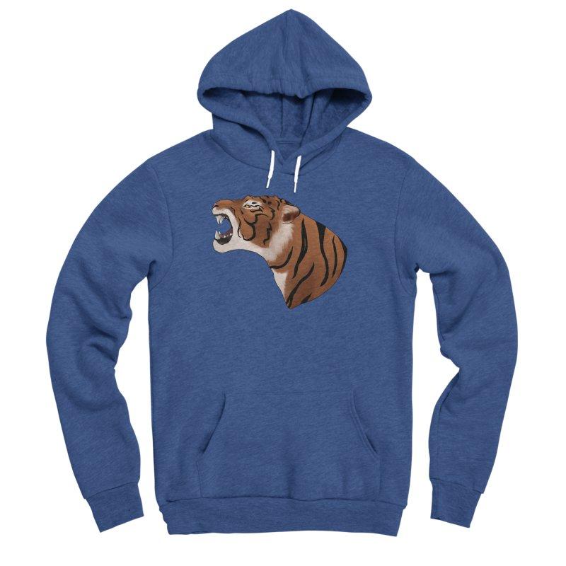 Tigers Roar Men's Pullover Hoody by edubost's Artist Shop