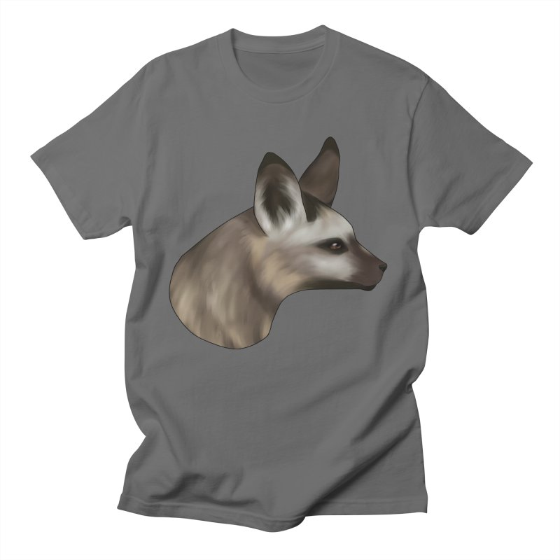 Fox Ears Hear All Men's T-Shirt by edubost's Artist Shop
