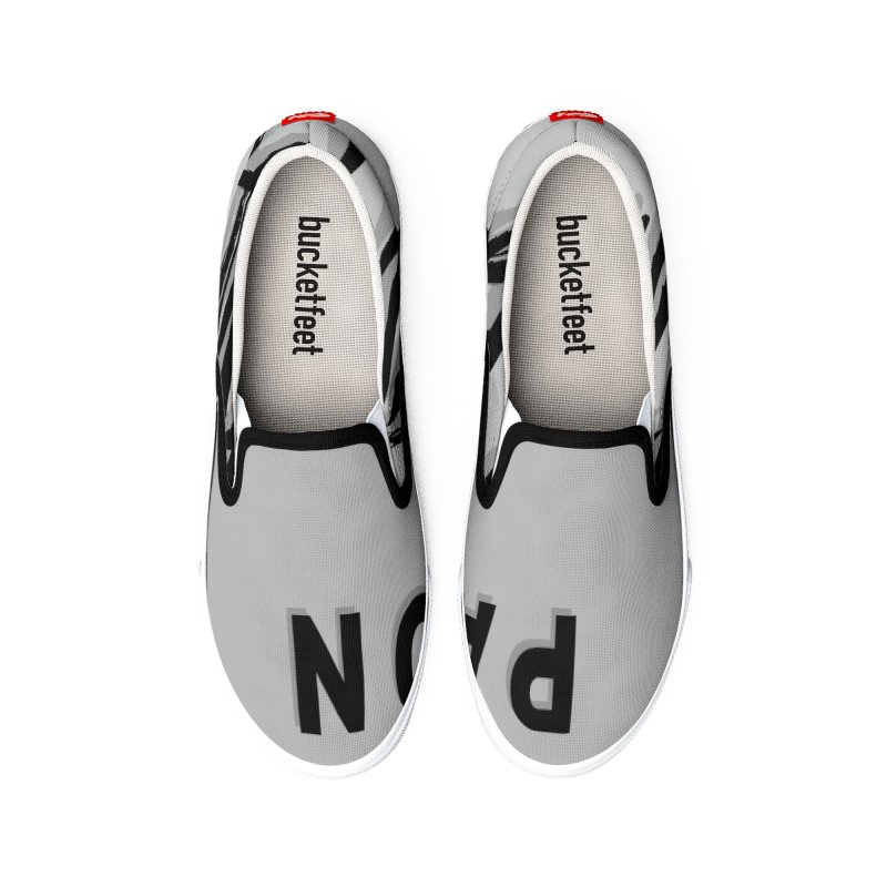 Pardon My Positivity Women's Shoes by Education Never Dies