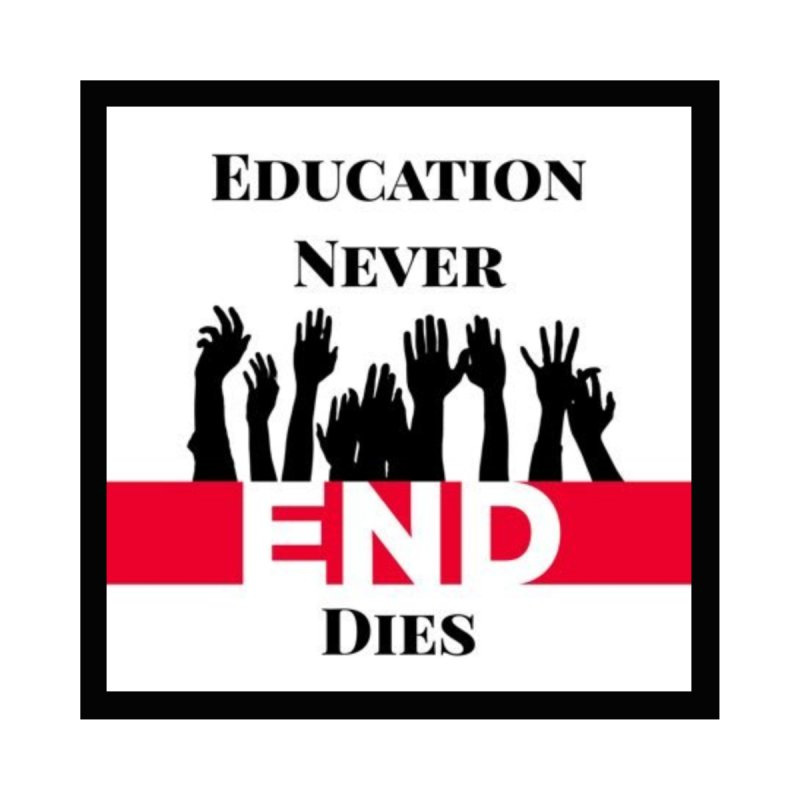 END Women's Sweatshirt by Education Never Dies