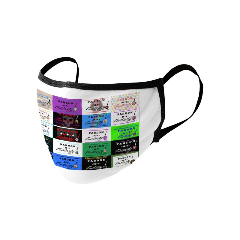 Family Accessories Face Mask by Education Never Dies