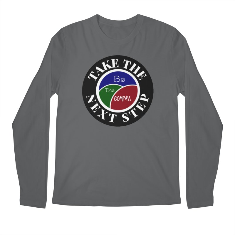 Take The Next Step Men's Longsleeve T-Shirt by Education Never Dies