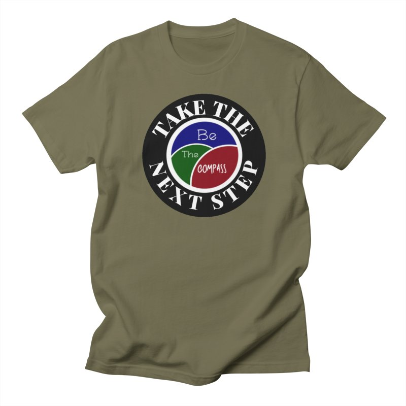Take The Next Step Men's T-Shirt by Education Never Dies