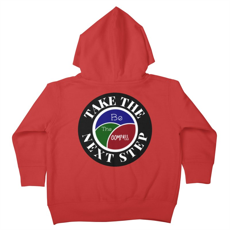 Take The Next Step Kids Toddler Zip-Up Hoody by Education Never Dies