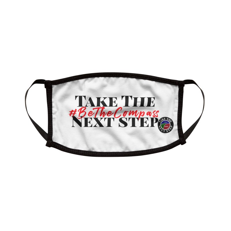 Be The Compass Accessories Face Mask by Education Never Dies