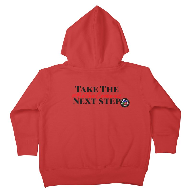 Be The Compass Kids Toddler Zip-Up Hoody by Education Never Dies