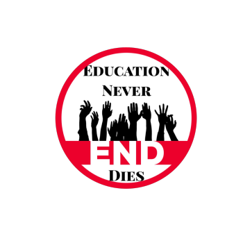 Education Never Dies Logo