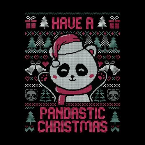 Design for Pandastic Christmas - Funny Ugly Sweater Xmas Panda Gift