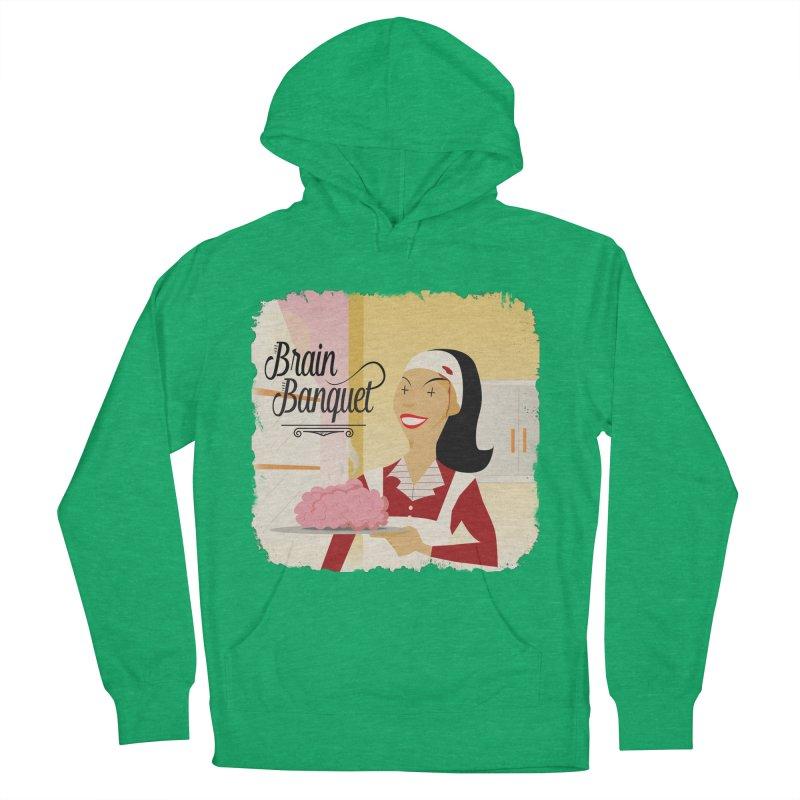 Dinner time! Women's French Terry Pullover Hoody by edulobo's Artist Shop