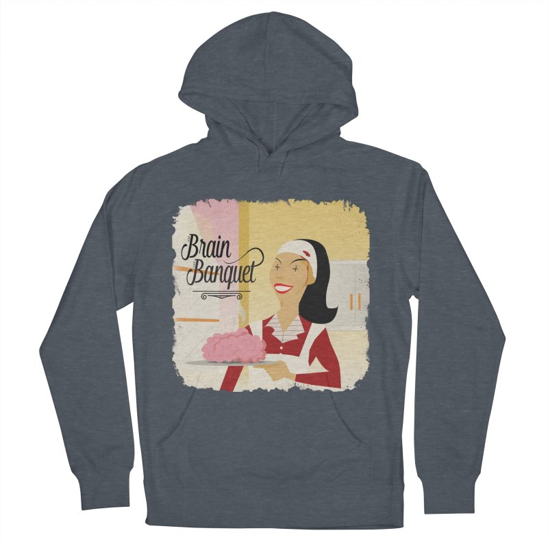 Dinner time! Men's French Terry Pullover Hoody by edulobo's Artist Shop