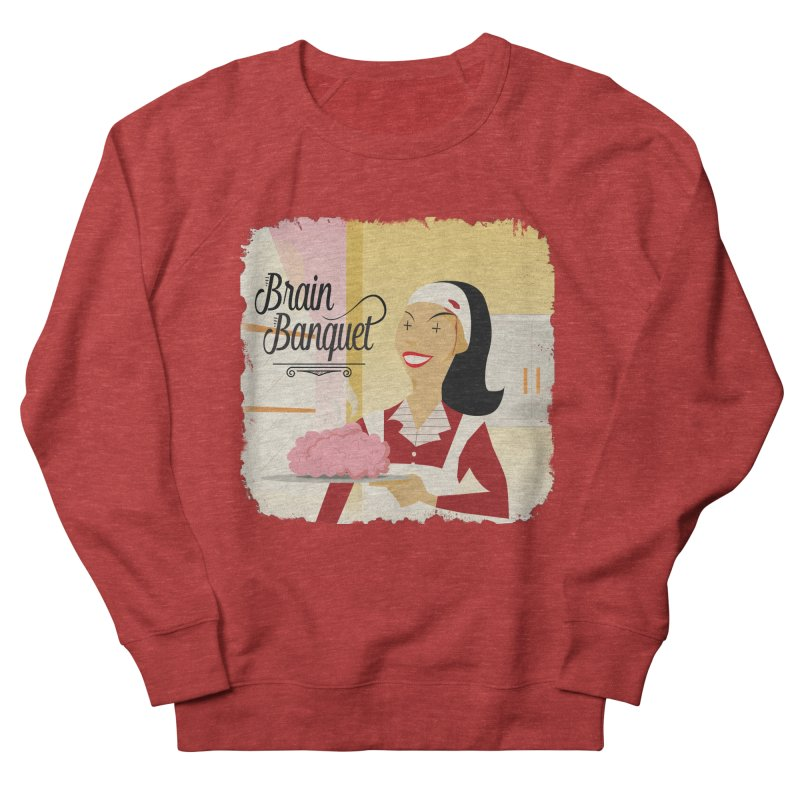 Dinner time! Men's French Terry Sweatshirt by edulobo's Artist Shop