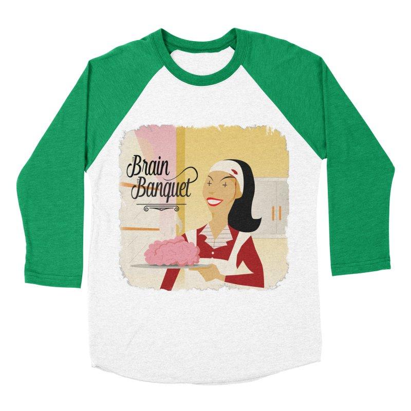 Dinner time! Women's Baseball Triblend Longsleeve T-Shirt by edulobo's Artist Shop