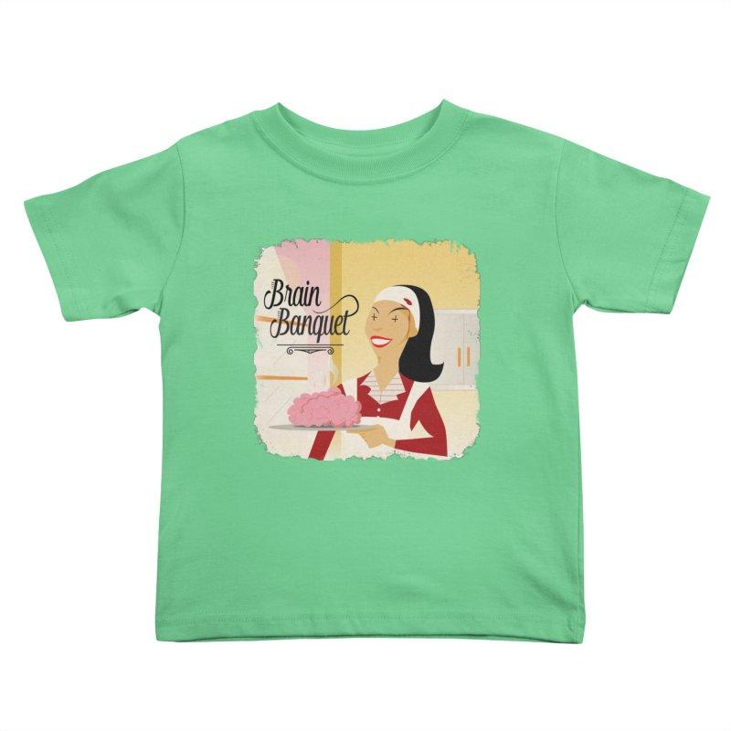 Dinner time! Kids Toddler T-Shirt by edulobo's Artist Shop