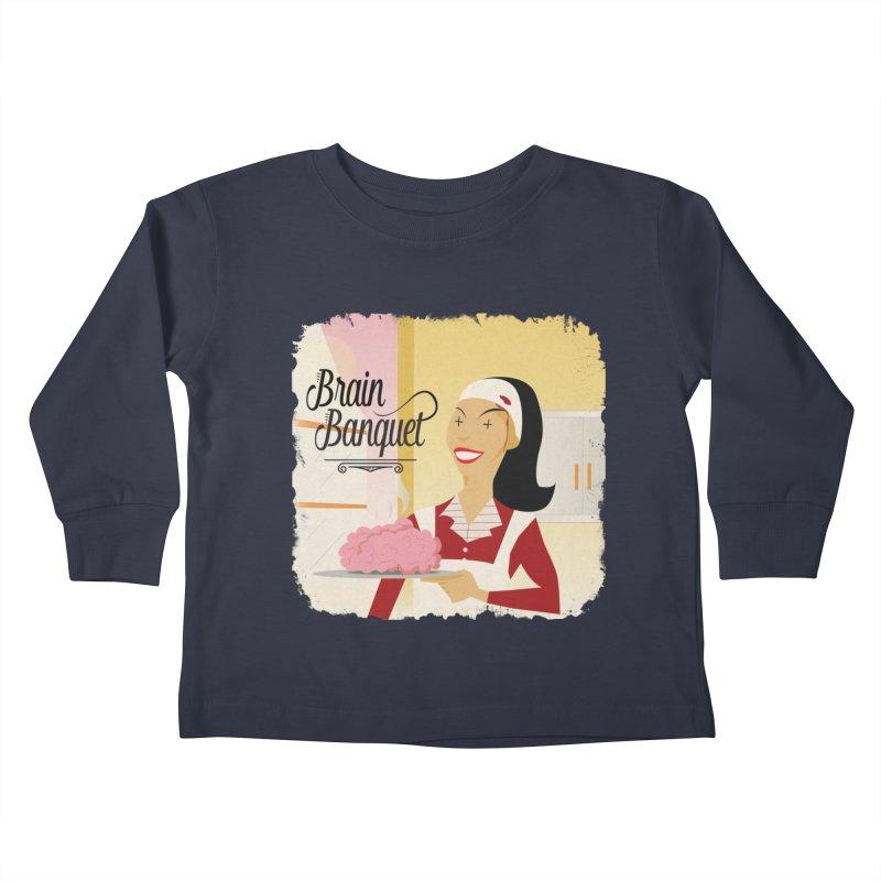 Dinner time! Kids Toddler Longsleeve T-Shirt by edulobo's Artist Shop