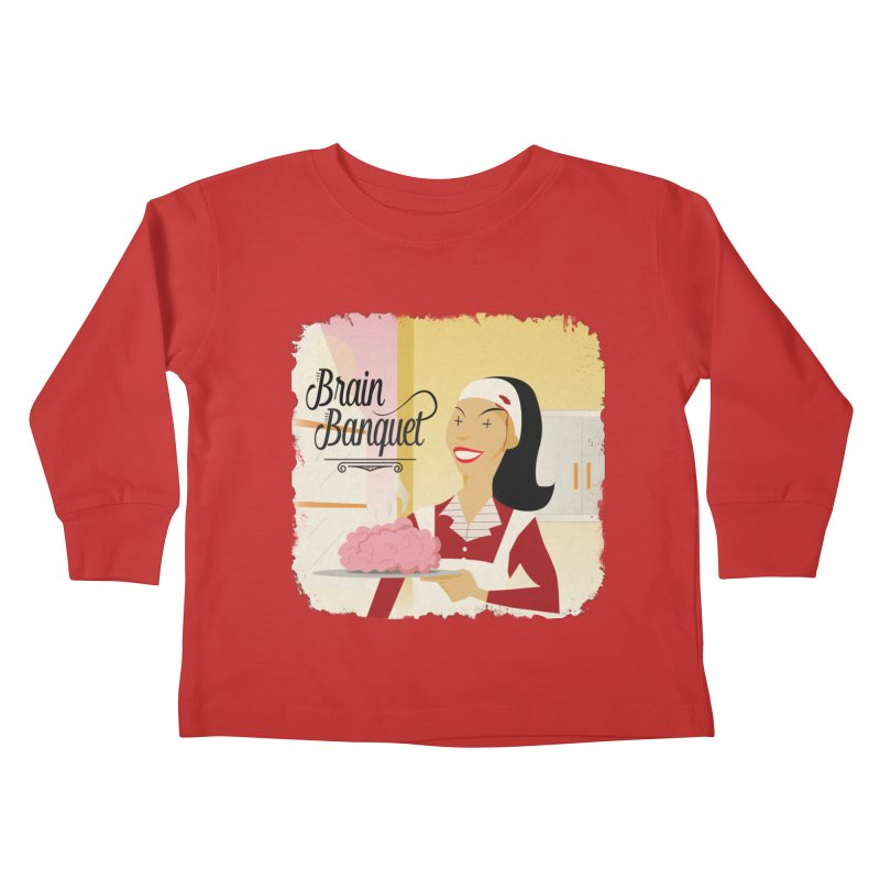 Dinner time! Kids Toddler Longsleeve T-Shirt by edulobo's Artist Shop