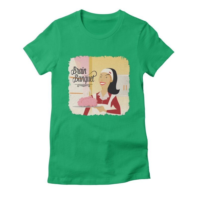 Dinner time! Women's Fitted T-Shirt by edulobo's Artist Shop